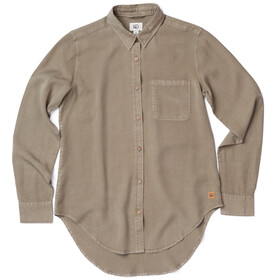 tentree Fernie EV2 LS Button Up Shirt Women Vetiver Green